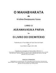O Mahabharata 15 Asramavasika Parva em português.pdf