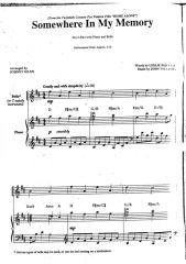 John Williams - Home Alone - Somewhere In My Memory.pdf