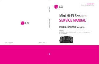 LG RAD225B  RAS225.pdf