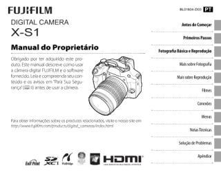 Manual Fuji X-S1 Português.pdf