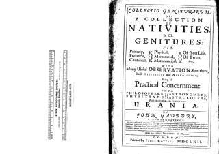 John Gadbury - A collection of nativities.pdf