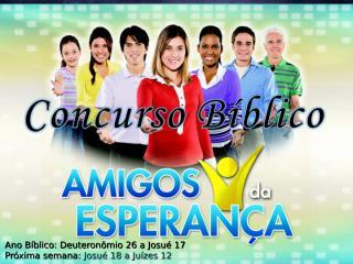 Concurso Bíblico 2011 - 10.ppt
