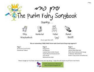 Purim Fairy Song Book 5772.pdf