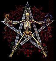 Skeleton skull 0905 satan gif